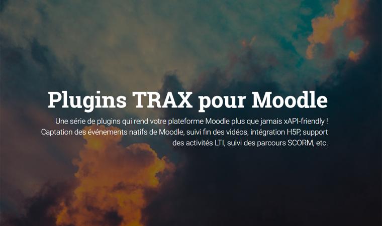Sébastien FRAYSSE – xAPI, Trax LRS, Learning Analytics, Moodle, Laravel